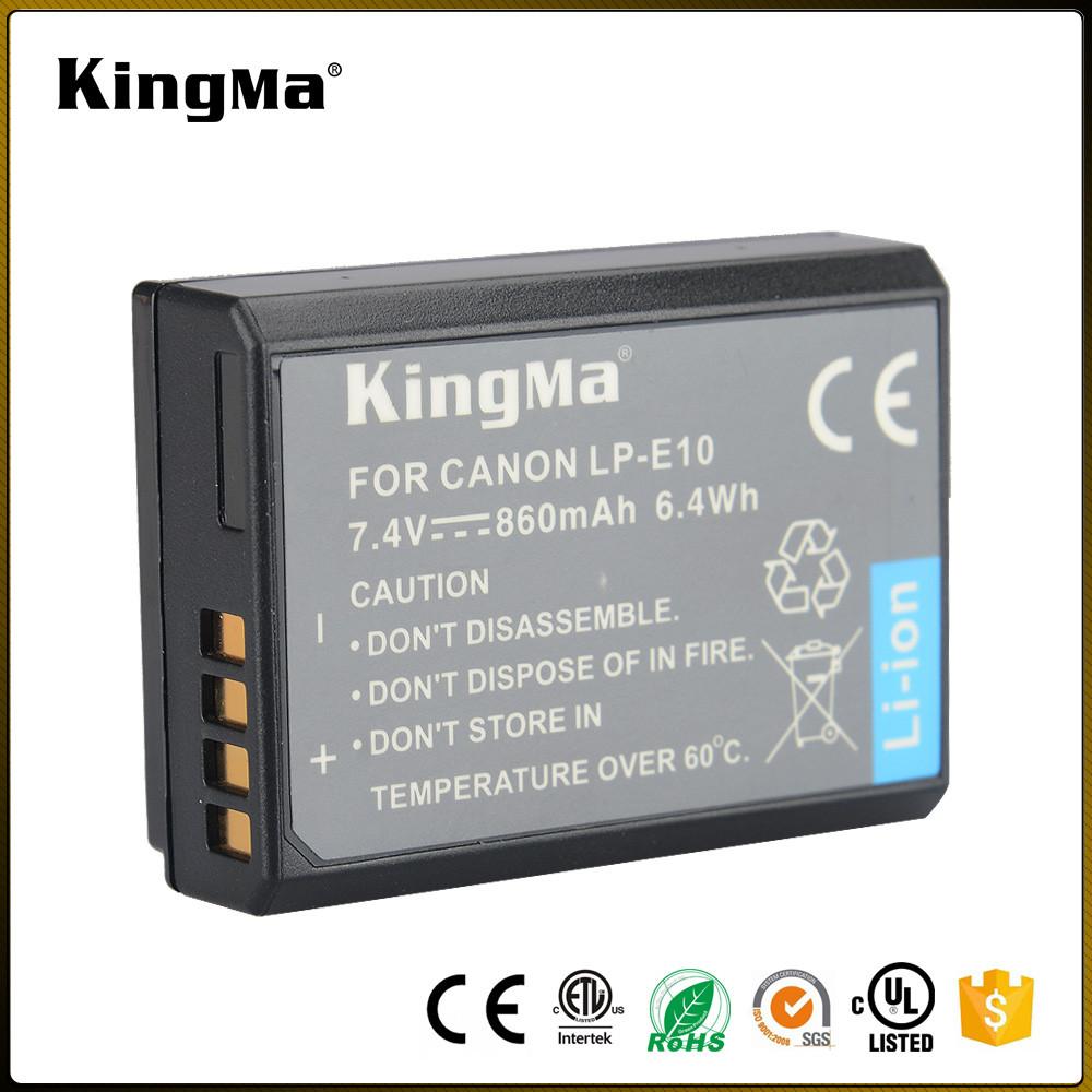 LP-E10. Аккумулятор KingMa для фото/видео Canon