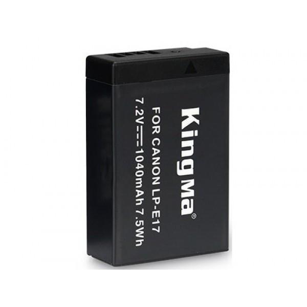 LP-E17. Аккумулятор KingMa для фото/видео Canon