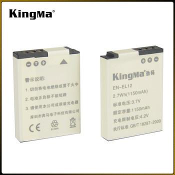 EN-EL12. Аккумулятор KingMa для фото/видео Nikon