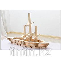 Деревянный конструктор - Брусочки Music Blocks, 102 деталей, фото 3