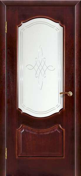 Дверь массив шпонированная Симфония Прима ПО