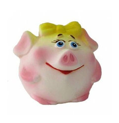 "Резиновая игрушка ""Свинка мяч"""