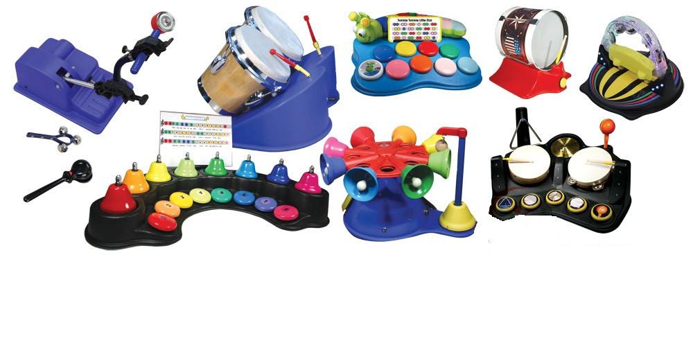 Адаптированный музыкальный набор для детей-инвалидов               арт. ИА3837