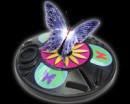 Музыкальная бабочка с подсветкой               арт. ИА3855