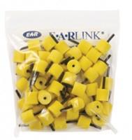 Вкладыши для внутриушных телефонов (д.10-розовые), (д.13-желтые) для EP25               арт. 3110