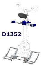 Универсальный порт и подголовник к ступенькоходу SDM7 для D1352             арт. OB20790