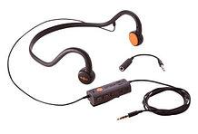 Наушники с технологией костной проводимости для глухих и слабослышащих AfterShokz Sportz M2          Арт. 13443