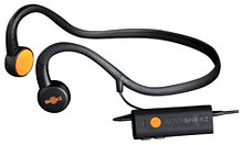 Наушники с технологией костной проводимости для глухих и слабослышащих AfterShokz Sportz M3         Арт. ЭГ17228