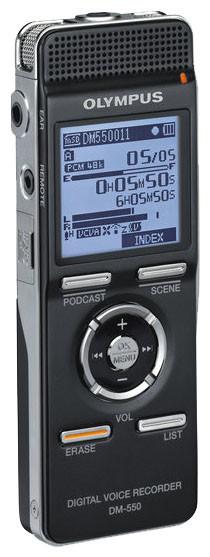 Диктофон OLYMPUS DM-550, 4Гб               арт. ИА4490