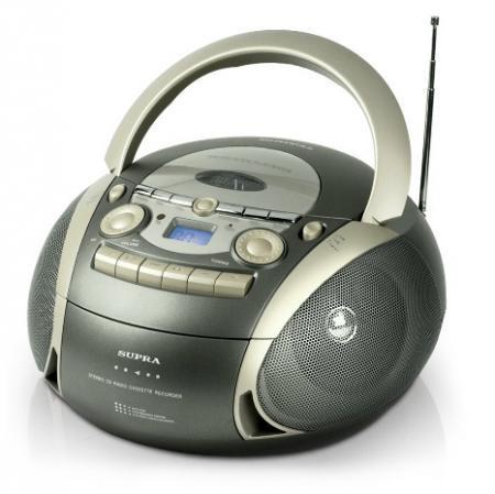 Аудиомагнитола SUPRA BB-CD601               арт. 4488