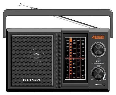Радиоприемник Supra ST-122                  арт. ИА22778