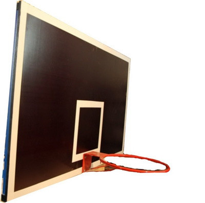 Щит баскетбольный игровой (ламинированная фанера) 1200*900 мм                арт. AQ17492