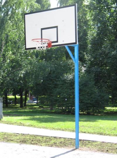 Стойка баскетбольная уличная стационарная                арт. AQ17504