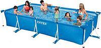 Прямоугольный каркасный бассейн Intex 28273 Rectangular Frame
