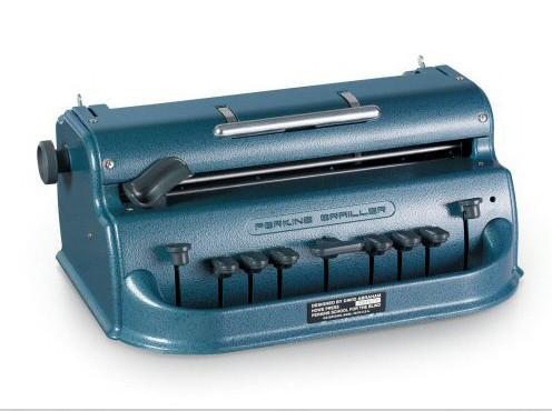 Брайлевская пишущая машинка Perkins Standard               арт. ЭГ4030