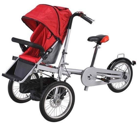 Велоколяска-трансформер Beisier            арт. TK18396