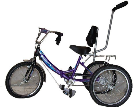 Велосипед-тренажер для детей с ДЦП ВелоЛидер 16                 арт. VL21333