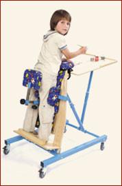 Вертикализатор наклонный на рост ребенка от 70 до 100см        арт. КХ13581