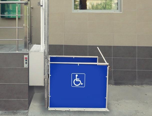 Вертикальный инвалидный подъемник  PTU   арт. Rlf20802