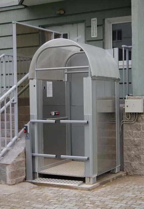 Подъемная платформа для инвалидов с вертикальным перемещением (ЛИФТ-ПРО 450)     арт.16846