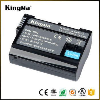EN-EL15. Аккумулятор KingMa для фото/видео Nikon