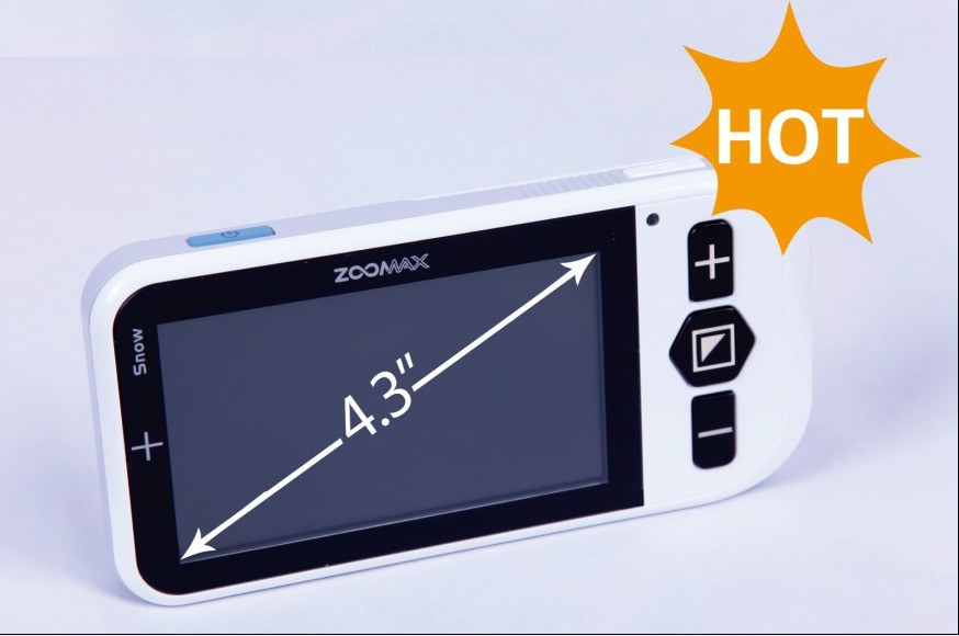 Видеоувеличитель электронный Zoomax Snow                арт. VC4359
