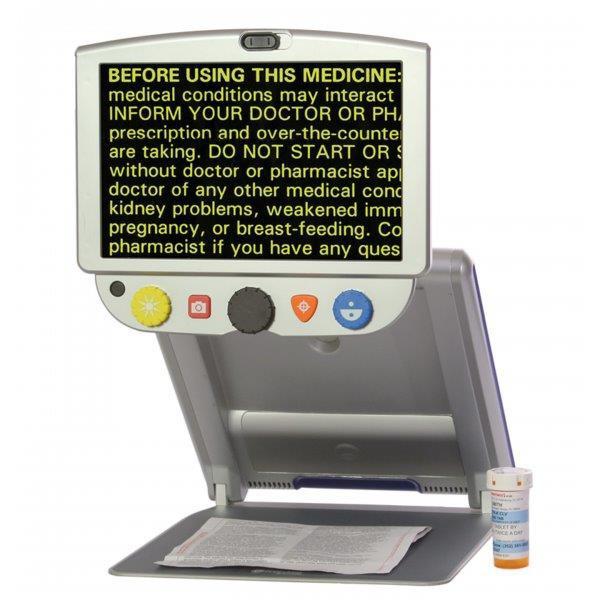 Складной настольный электронный видео-увеличитель TOPAZ PHD 15               арт. ЭГ17232