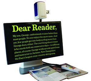 Универсальный электронный видео-увеличитель ONYX DeskSet HD 20               арт.ЭГ13961