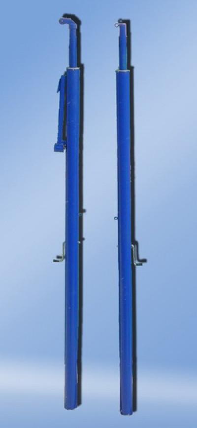 Стойки волейбольные окрашенные под стакан, телескопические                арт. AQ17490