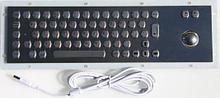 Металлическая антивандальная клавиатура c Track ball трекбол trackball TG-best-01                     арт. ТчБ24244