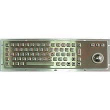 Металлическая антивандальная клавиатура c Track ball трекбол trackball TG-PC-Dn                     арт. ТчБ24245