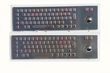 Металлическая антивандальная клавиатура c Track ball трекбол trackball TG-PC-D (Fn)                     арт. ТчБ24246