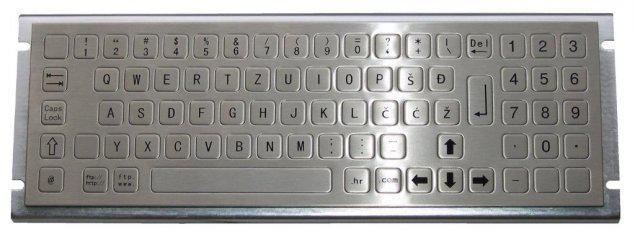 Металлическая антивандальная клавиатура TG-PC-E                     арт. ТчБ24252