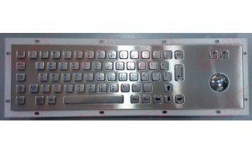 Металлическая антивандальная клавиатура c Track ball трекбол trackball TG-PC-D Клавиатура Брайля                     арт. ТчБ24265