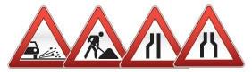 Треугольные дорожные знаки 900 мм (Коммерческая пленка, тип А)             арт. ДЗ20075