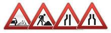 Треугольные дорожные знаки 900 мм (Алмазная пленка, тип В)             арт. ДЗ20077