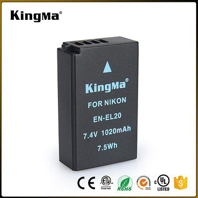 EN-EL20. Аккумулятор KingMa для фото/видео Nikon
