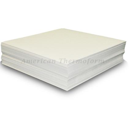 Листы пластиковые плотные для тактильной печати. Формат А4 (пачка 100 листов)         арт. ЭГ23038