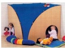 Игровой модульный трансформер: домик с текстильной крышей             арт. RN18003