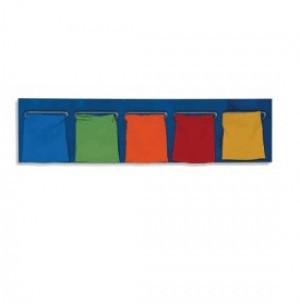 Настенная игровая панель «Цветные мешочки»             арт. RN18013