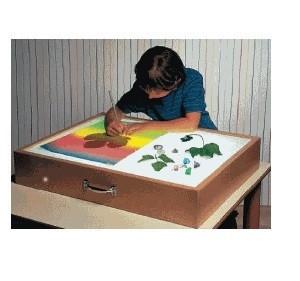 Игра тактильная «Рисуем на песке»: ящик с подсветкой                 арт. RN18045