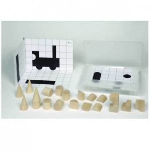 Кубики теневые: дополнительный набор шаблонов                   арт. RN18073