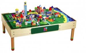 Конструктор «Город» (большой) с  игровым столом                арт. RN17829