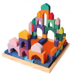 Конструктор «Разноцветные блоки 3»                арт. RN17866