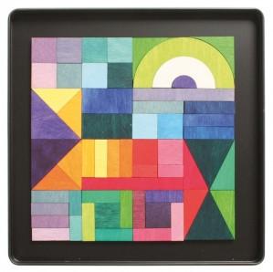 Мозаика магнитная «Геометрическая»                арт. RN17871