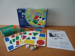 Игра развивающая геометрическая «Форма, размер, цвет»                арт. RN17894