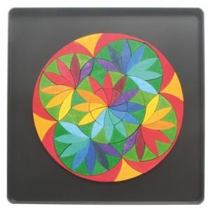Орнамент магнитный в круге «Цветы»                арт. RN17893