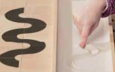 Набор психолога Пертра. Дополнительный  комплект с песком и пластинами для развития графомоторики                     арт. RN17822