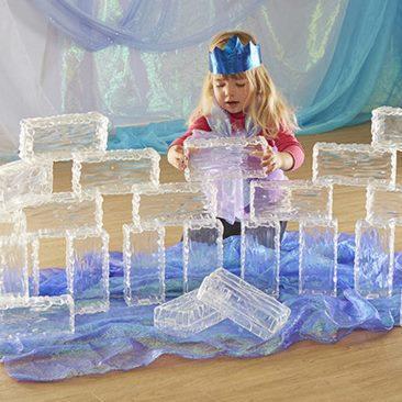 Набор прозрачных пластиковых кирпичей               арт. RN23071