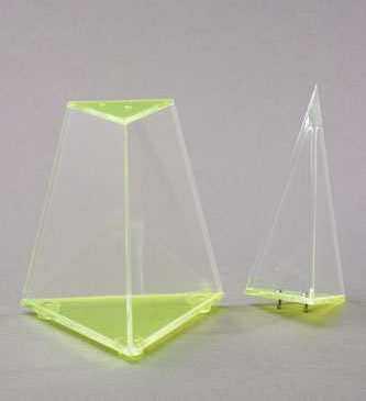 Набор прозрачных геометрических тел с сечениями. Базовый               арт. RN23078